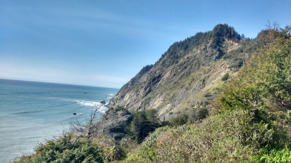 Ocean view from Lost Coast section